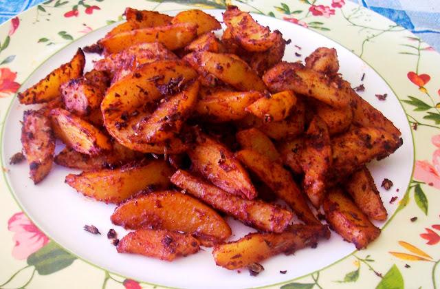 Patatas al Estilo Cajún. Receta