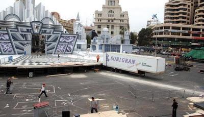 Resultado de imagen de carnaval santa cruz plaza de españa