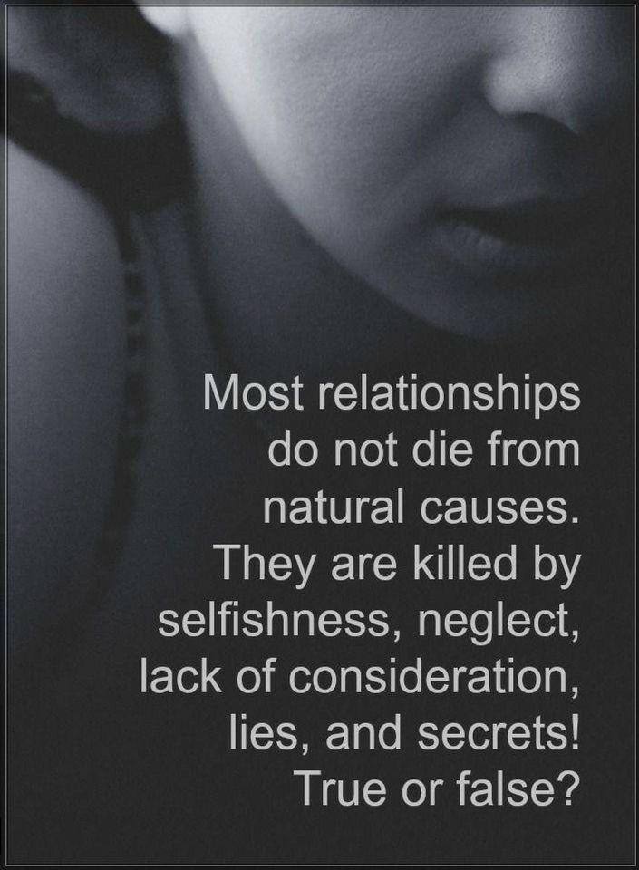 Relationship Quotes Most Relationships Do Not Die From Natural