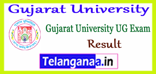 Gujarat University UG Semester 1st 2nd 3rd 4th 5th 6th Result 2017