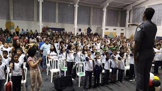 Mais de 460 alunos de Registro-SP são certificados pelo PROERD