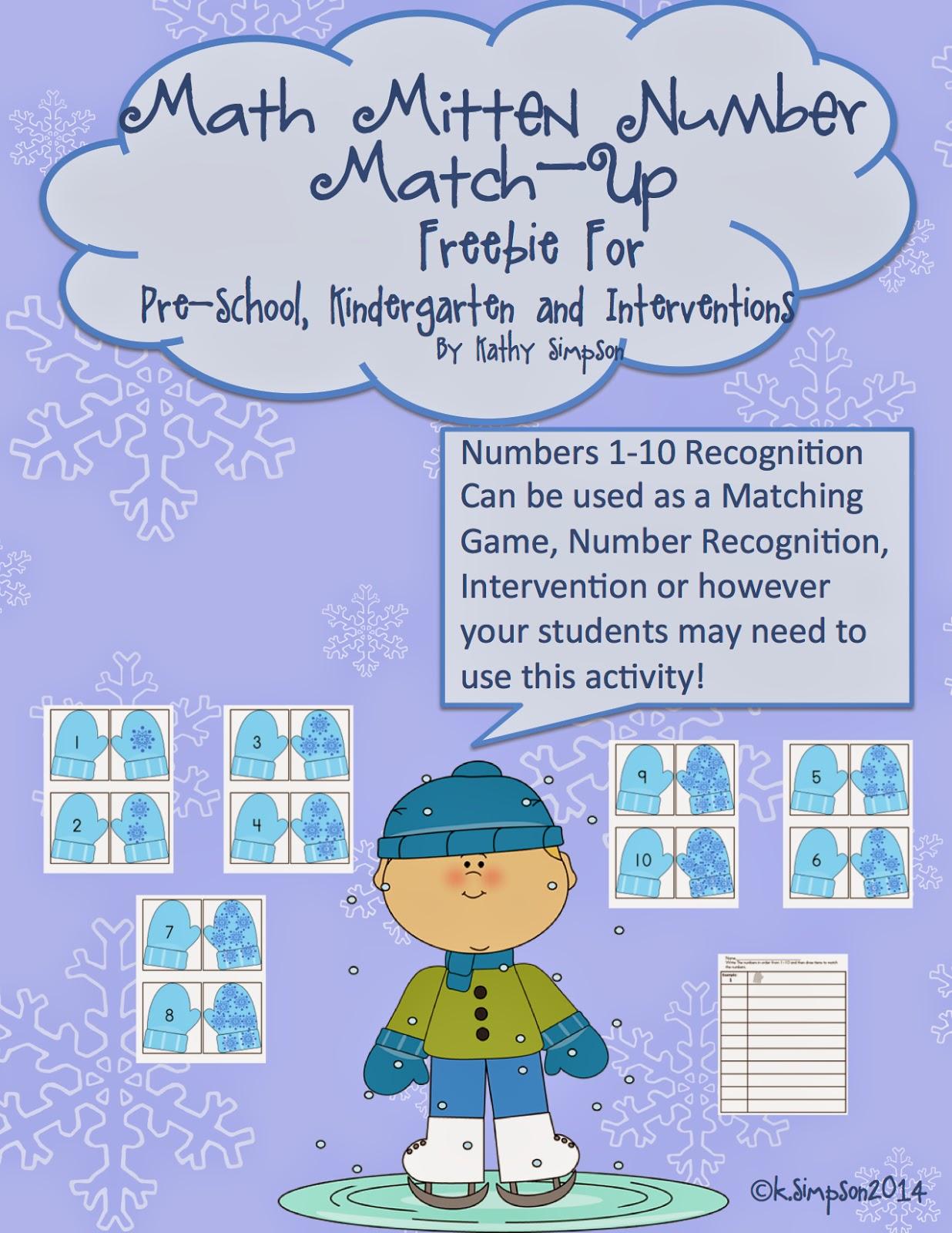 Teacher Tam S Educational Adventures 11 Free Winter Math