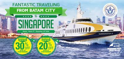 Traveling Asik ke Singapura lewat Batam