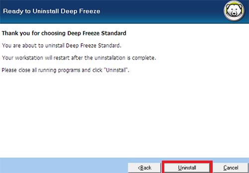 شرح حذف برنامج ديب فريز من الكمبيوتر بالتفصيل الممل