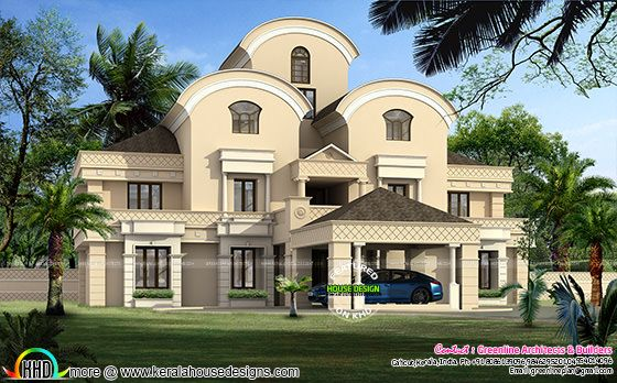 Luxury Arabian style home design