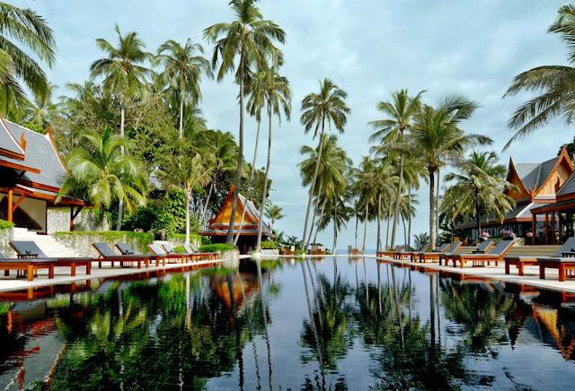 Impresii statiuni de LUX din Thailanda resorturi romantice