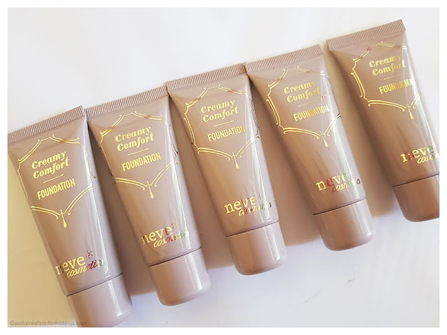Neve Cosmetics Creamy Confort Foundation