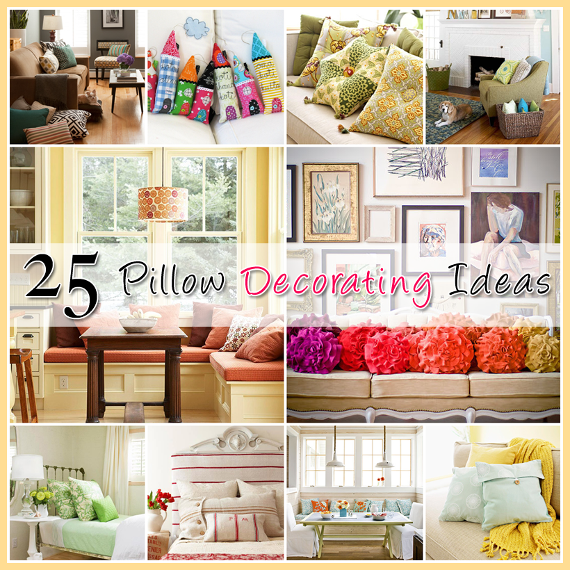 25 Ideas For Decorating With Pillows The Cottage Market