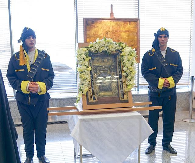 Αναχώρηση της εικόνας της Παναγίας Σουμελά από την Αγία Πετρούπολη