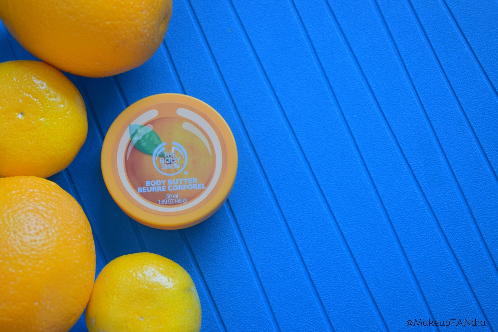 The body shop body butter satsuma