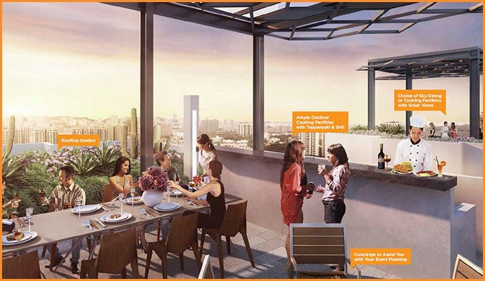 rooftop dining