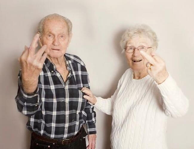 20 Exhilarating Images That Show Love Has No Age Limits - And may illness and misfortune keep away!