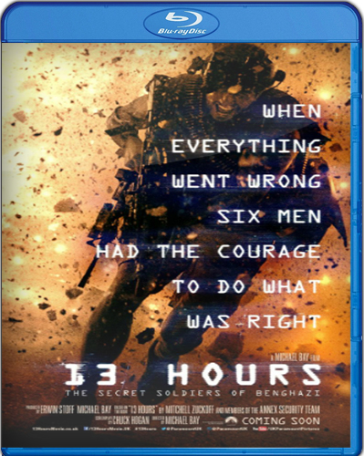 13 Hours: The Secret Soldiers of Benghazi [BD50] [2016] [Latino]