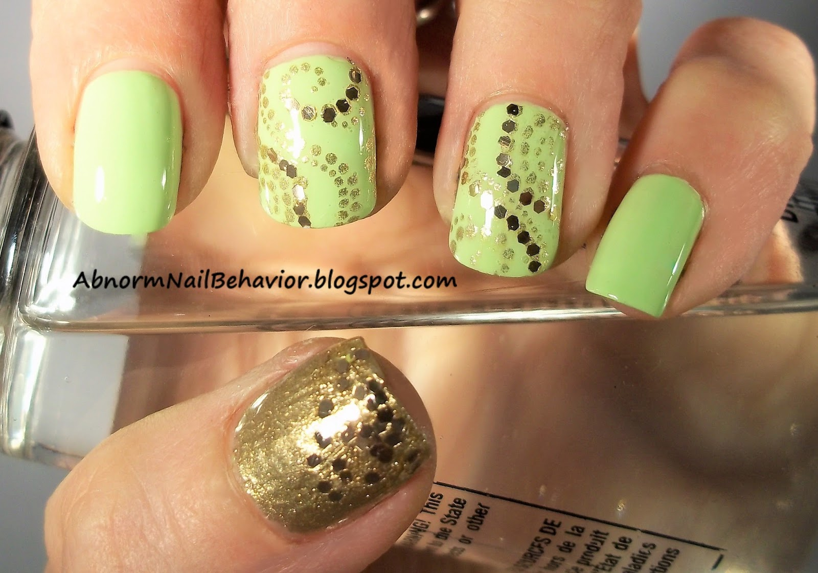 Abnorm Nail Behavior | Nail Art : Simple St Patrick\'s Day Nails
