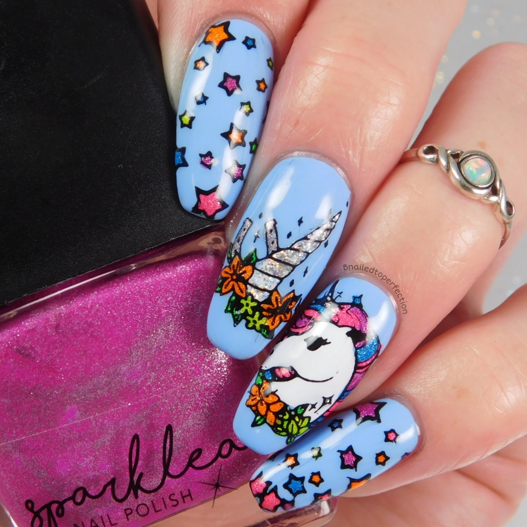 B Nailed To Perfection: 26 Great Nail Art Ideas - Colour Explosion