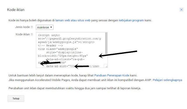 Cara Pasang Iklan Google Adsense Mudah Beda Blog
