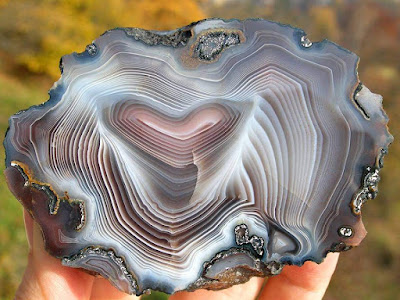 Botswana Agate- Types of agate