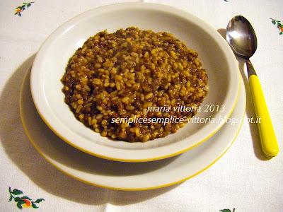 Semplice semplice lenticchie con riso grano saraceno e for Cucinare miglio