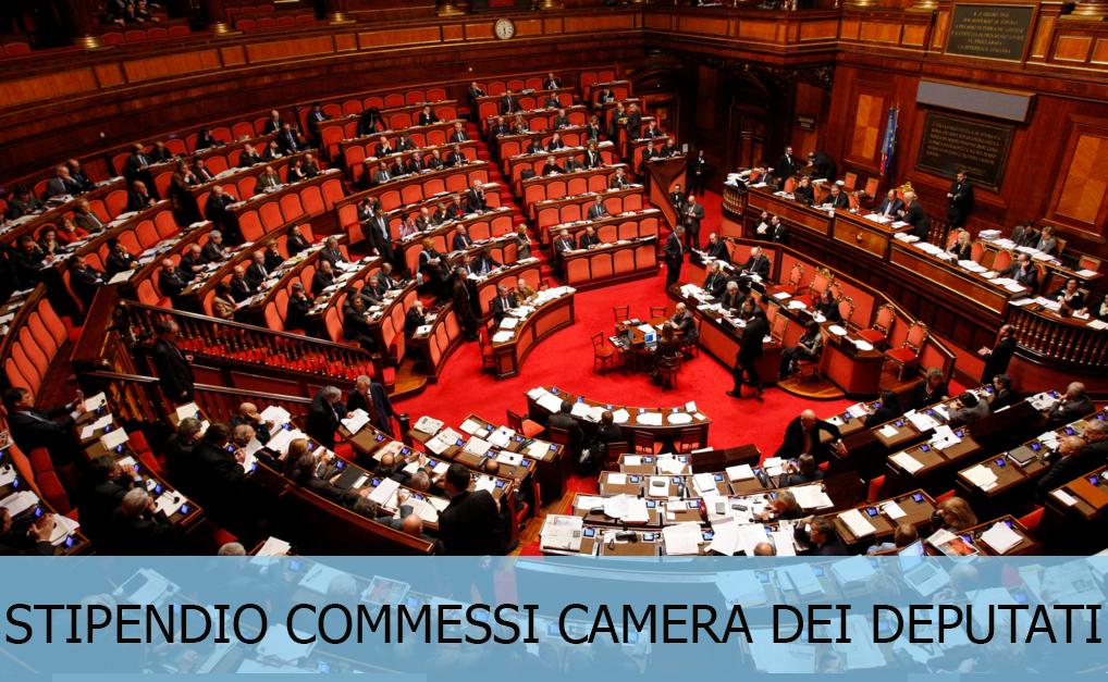 Guadagno e stipendio commessi camera dei deputati for Video camera dei deputati