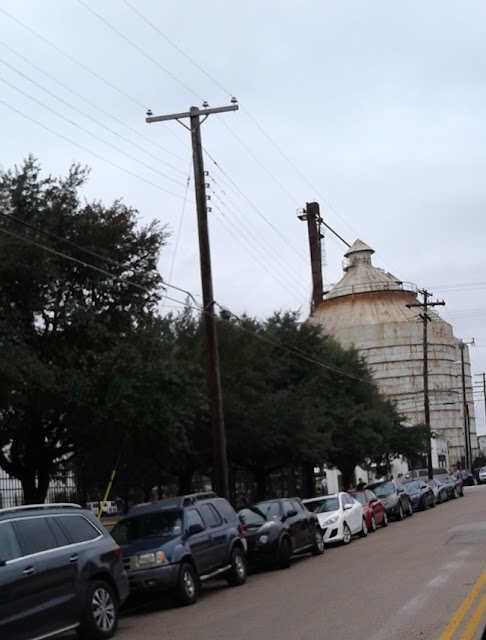 Silos Downtown Waco, Texas