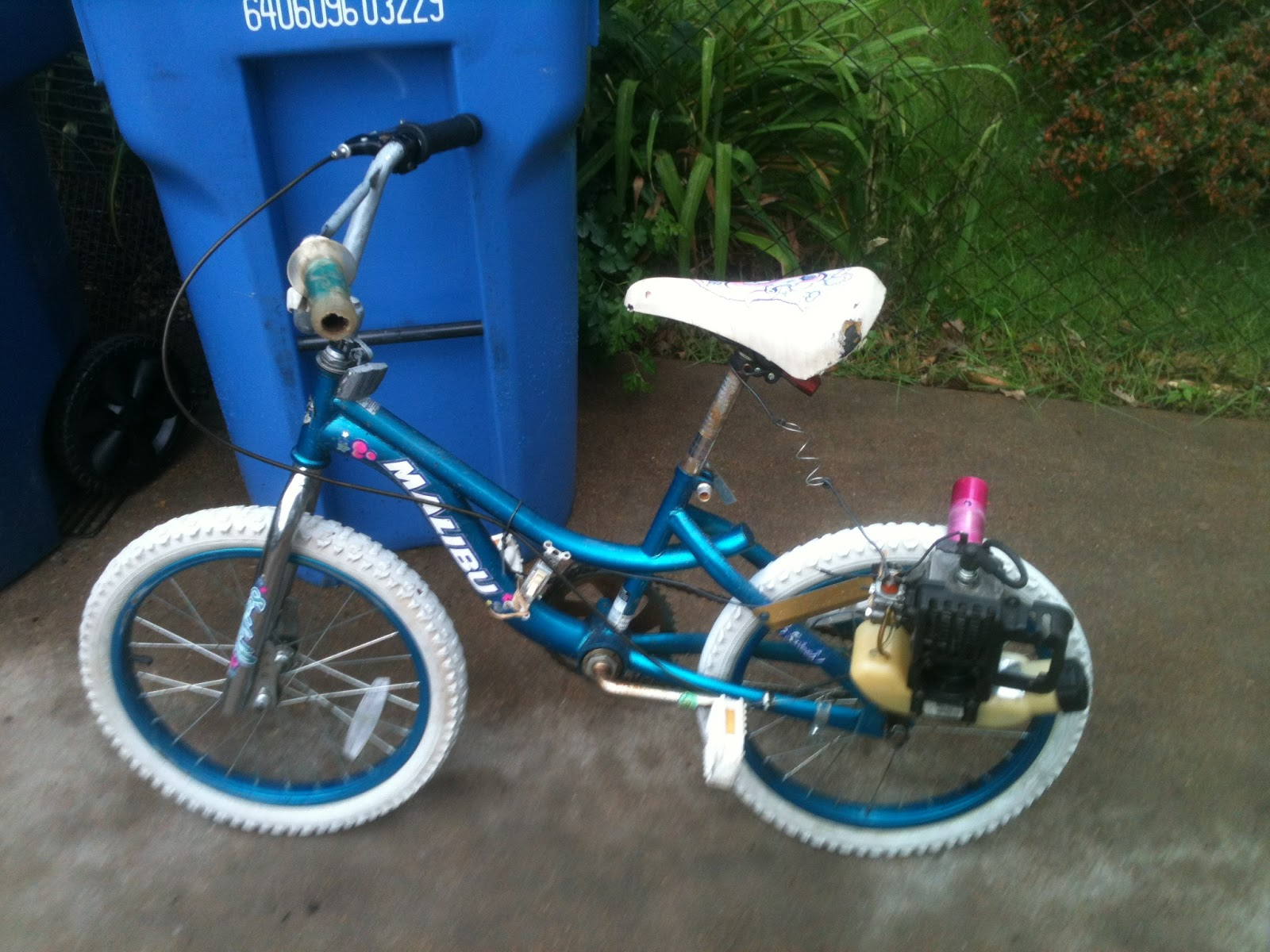 Build A Weed Eater Bike How To Build A Motorized Bicycle