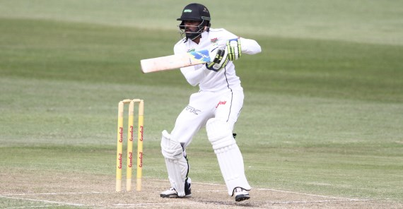 Cody Chetty (Credit: Anesh Debiky) - Hollywoodbets Dolphins - Cricket - Sunfoil Series - Batsman - Cut Shot