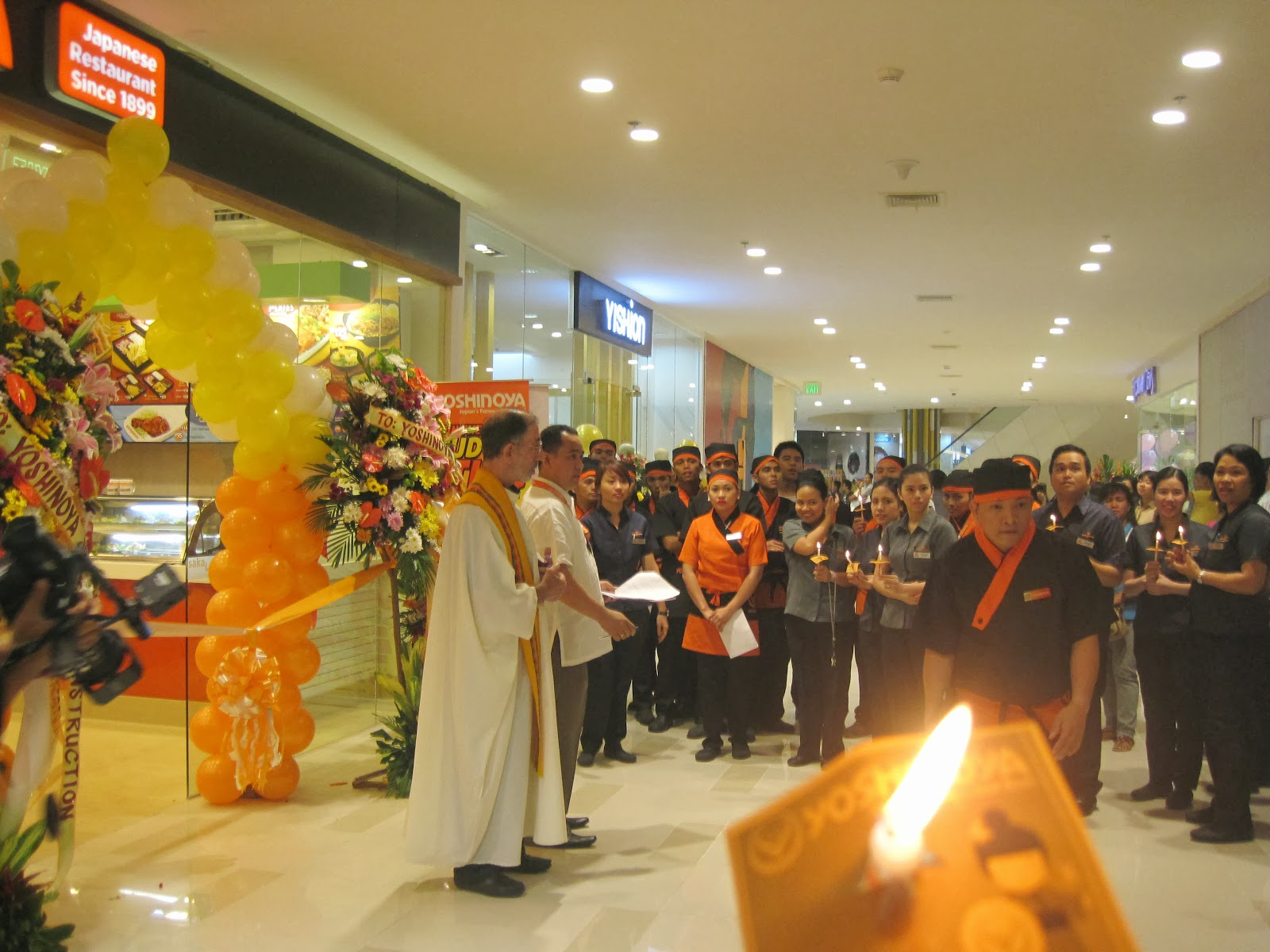 blessing of yoshinoya