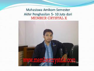 contoh member nasa yang sukses AMIKOM