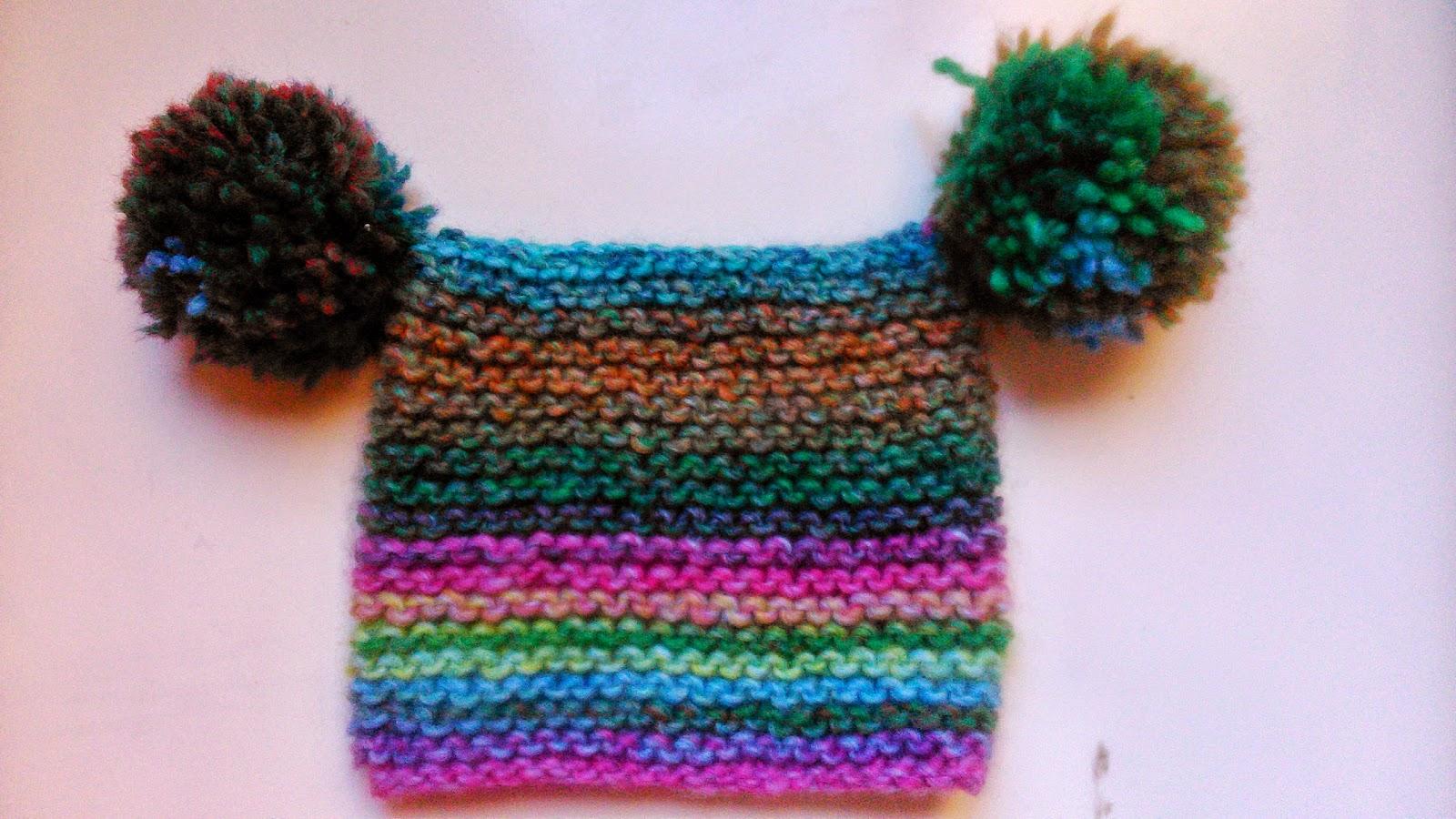 3a2c5463d Las lana que he usado es de la marca Katia, modelo Azteka , color 7842.  Ideal para bebes, por su colorido y suavidad. No pica nada.