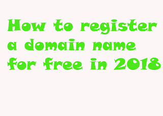 how to register a domain name for free