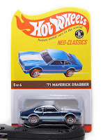 hot wheels rlc maverick grabber