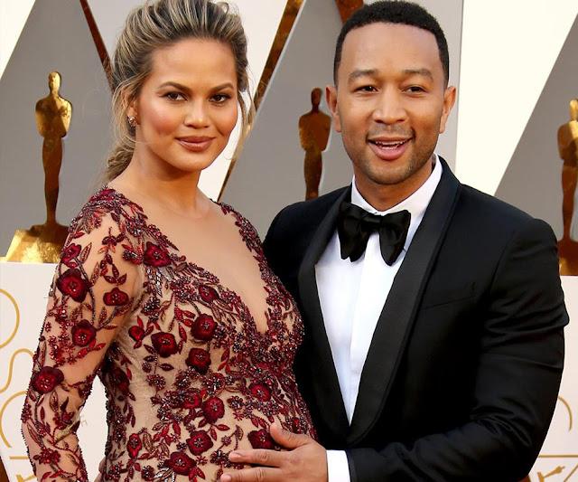 John Legend y Chrissy Teigen ya son oficialmente padres.