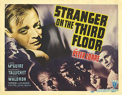 Image result for film posters stranger on the third floor