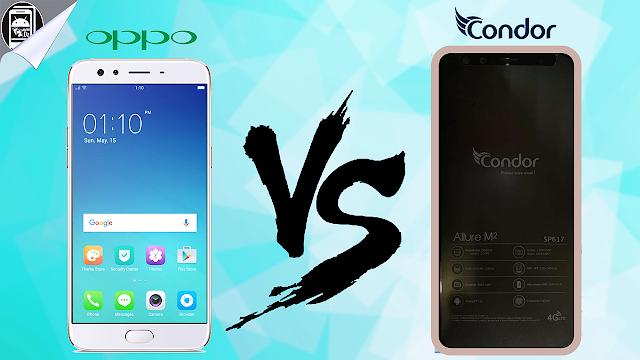 مقارنة بين : Oppo F3 Plus VS Condor M2