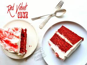 Red velvet cake {vanille chocolat}