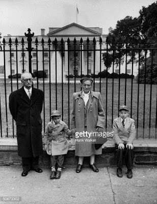 Robert and Michael visited the White House in 1953 in a failed bid to get President Eisenhower to stop their parents' executions.