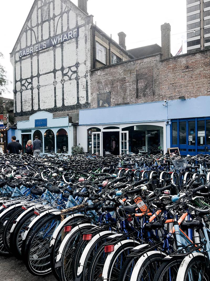 Gabriel's wharf london, bike rental in london, london tour company