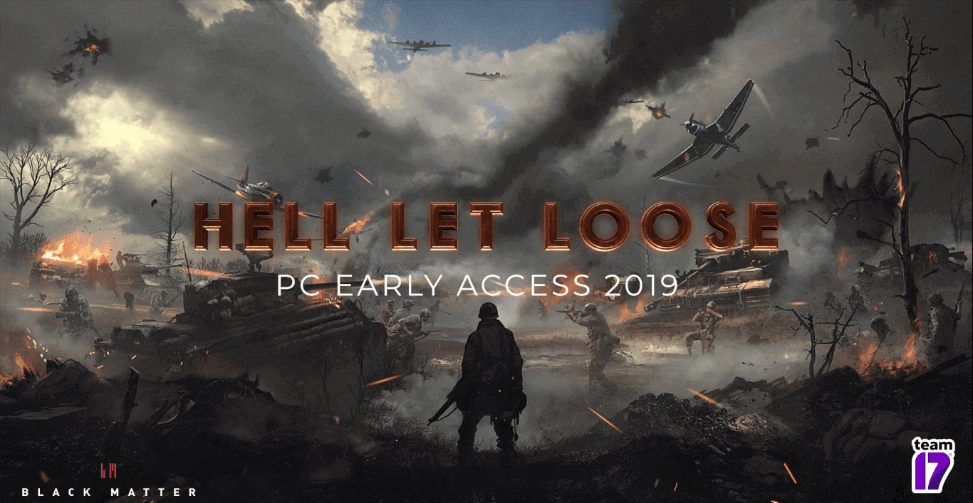 "Team 17 WW2 Tactical Shooter Game ""Hell Let Loose"" Coming To Steam In 2019"