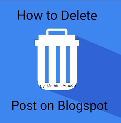 How to Delete a Post on Blogspot