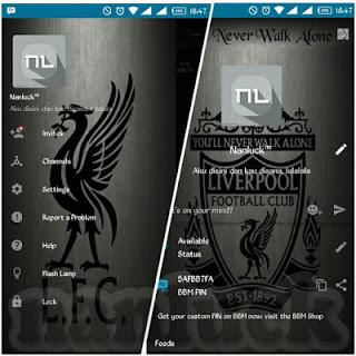 BBM MOD LIVERPOOL New Style 2.10.0.31 Apk Terbaru