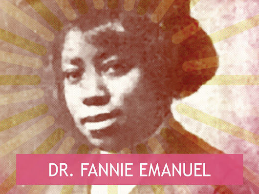 SRPS Role Model: Dr. Fannie Emanuel          ~          Self-Rescuing Princess Society