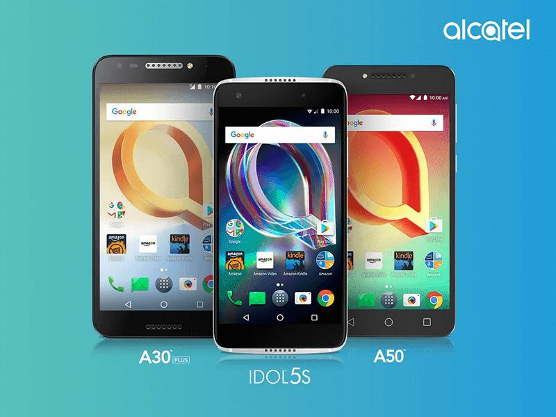 Alcatel A30 Plus, Idol 5s, A50