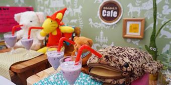 Kafe Boneka (Yawarakan Cafe), Jepang, Restoran, Unik, Seru