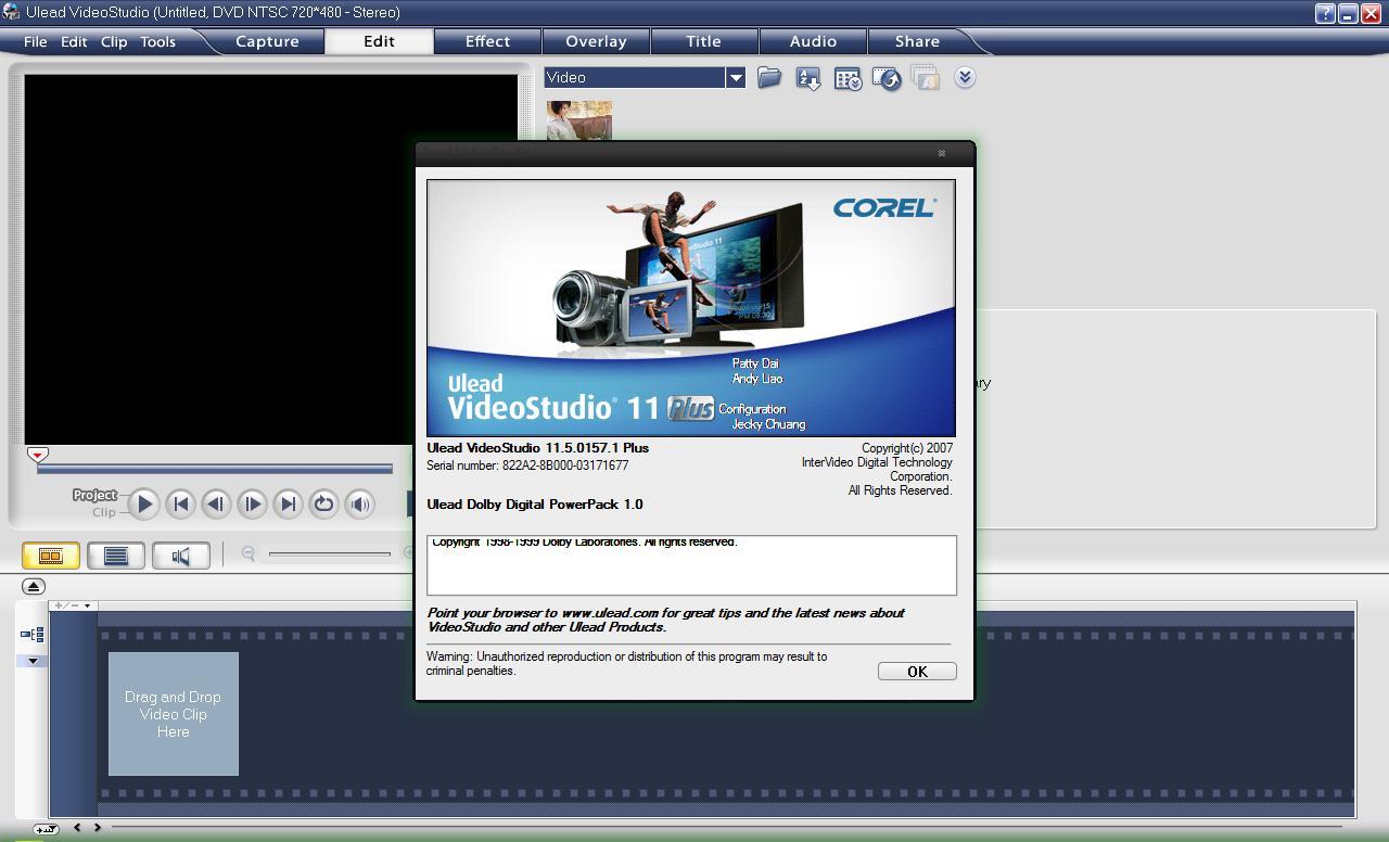 Ulead videostudio plus 11.5