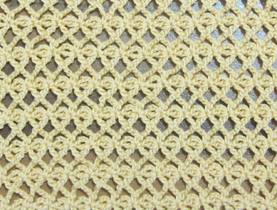 Crochet: decorative stitch 2 - Uncinetto: punto decorativo 2
