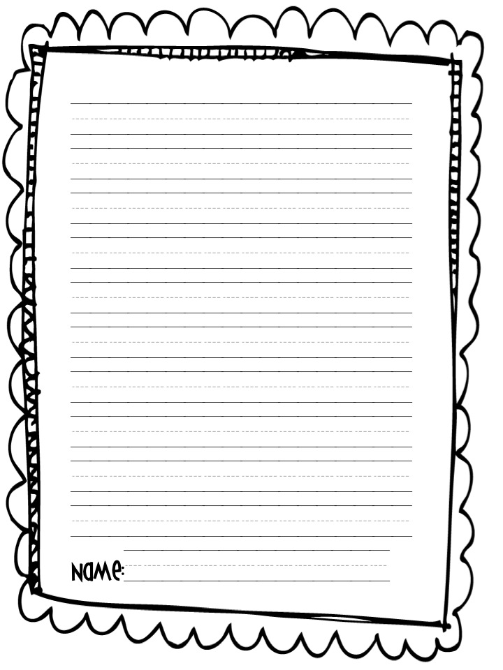 Perfect preschool writing paper template component resume ideas summer writing paper template image collections template design ideas maxwellsz