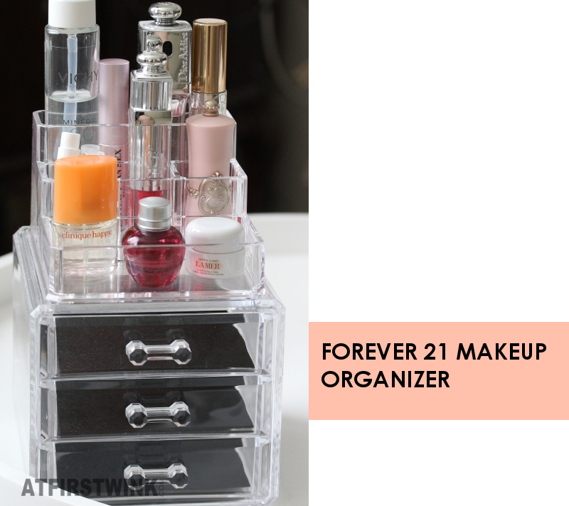 Forever 21 acrylic makeup organizer