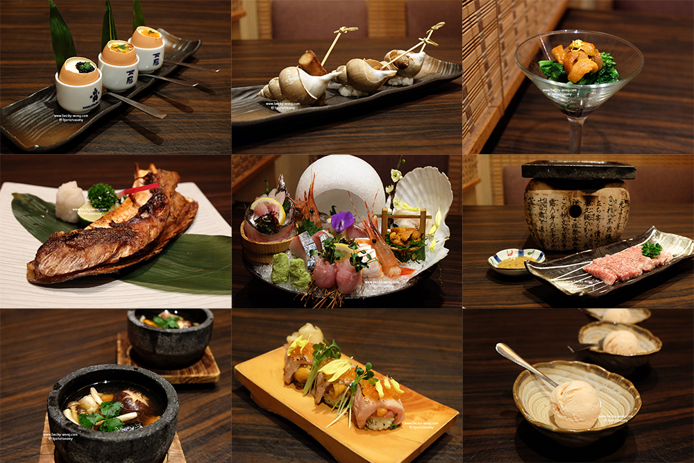 Ishin Japanese Dining Old Klang Road Kaiseki Style Cuisine Becky Wong
