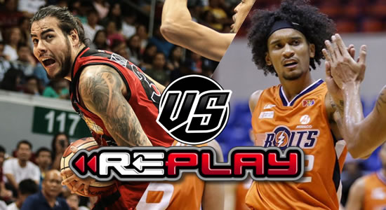Video Playlist: SMB vs Meralco replay 2019 PBA Philippine Cup