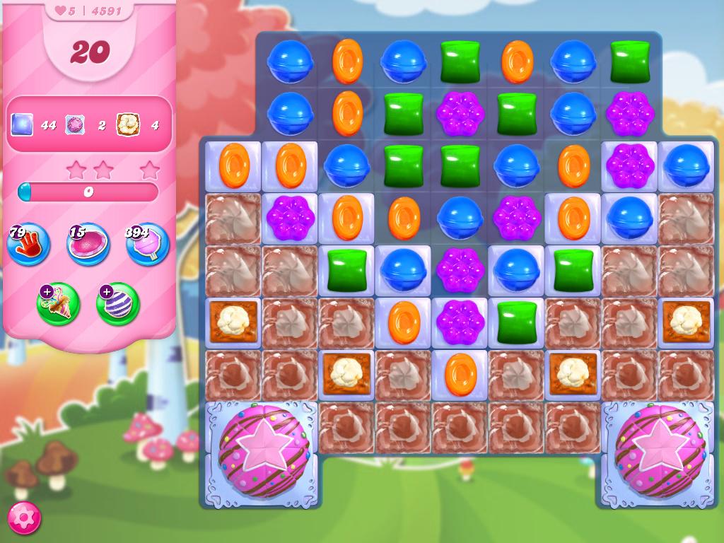 Candy Crush Saga level 4591